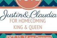 Homecoming Queen Flyer Template Free Download (1st Best Idea)
