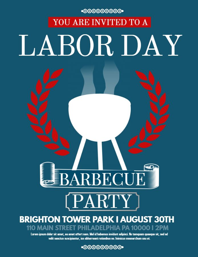labor day flyer template free, labor day bbq flyer template, labor day weekend flyer, labor day party flyer, labor day flyer ideas, labor day picnic flyer