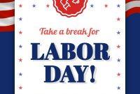 Labor Day Flyer Template Free Design (1st Amazing Idea)