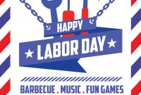 Labor Day Flyer Template Free Design (2nd Amazing Idea)