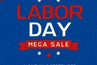 Labor Day Flyer Template Free Design (4th Amazing Idea)