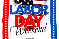 Labor Day Weekend Flyer Template Free (1st Best Option)