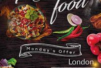 Mexican Restaurant Flyer Template Free (1st Best Example)