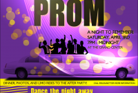 Prom Flyer Template Free PSD Format (2nd Amazing Idea)