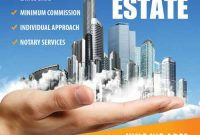 Real Estate Marketing Flyer Template Free Design (The 1st Best Example)
