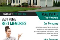 Real Estate Marketing Flyer Template Free Design (The 2nd Best Example)