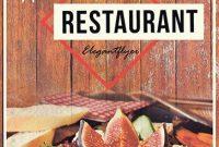Restaurant Poster Design Template Free (3rd Yummy Design)