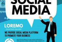 Social Media Marketing Flyer Template Free (2nd Design)