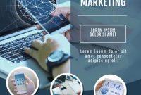 Social Media Marketing Flyer Template Free (3rd Design)