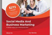 Social Media Marketing Flyer Template Free (4th Design)
