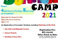 Summer Camp Flyer Template Free Download (1st Sample)