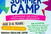 Summer Camp Flyer Template Free Download (4th Sample)