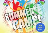 Summer Camp Flyer Template Free Download (5th Sample)