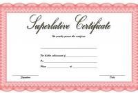 Superlative Award Certificate Templates FREE (1st Certificate of Achievement Design)