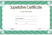 Superlative Award Certificate Templates FREE (4th Certificate of Achievement Design)