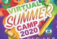 Virtual Summer Camp Flyer Template Free Download (2nd Design Idea)