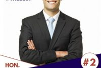 1st Campaign Poster Template PSD Format (2021 Best Idea)