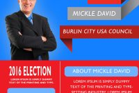 2nd Election Flyer Template Microsoft Word Format Free Download