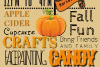 3rd Extraordinary Fall Harvest Festival Flyer Template Free Download