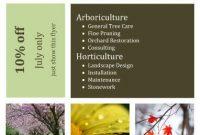 3rd Modern Gardening Flyer Template Free Design Idea