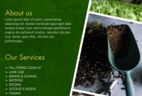 4th Modern Gardening Flyer Template Free Design Idea