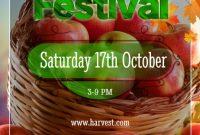 Harvest Festival Flyer Template Free Download (1st Best Format)