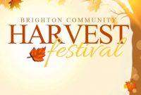 Harvest Festival Flyer Template Free Download (2nd Best Format)