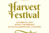Harvest Festival Flyer Template Free Download (3rd Best Format)