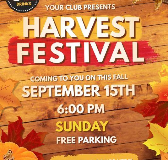 Harvest Festival Flyer Template Free Download (Top 9+ Intense Designs)