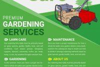 Landscape Flyer Template PSD Format Free (2nd Super Green Design)