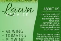 Lawn Care Service Flyer Template Free (3rd Example Design)