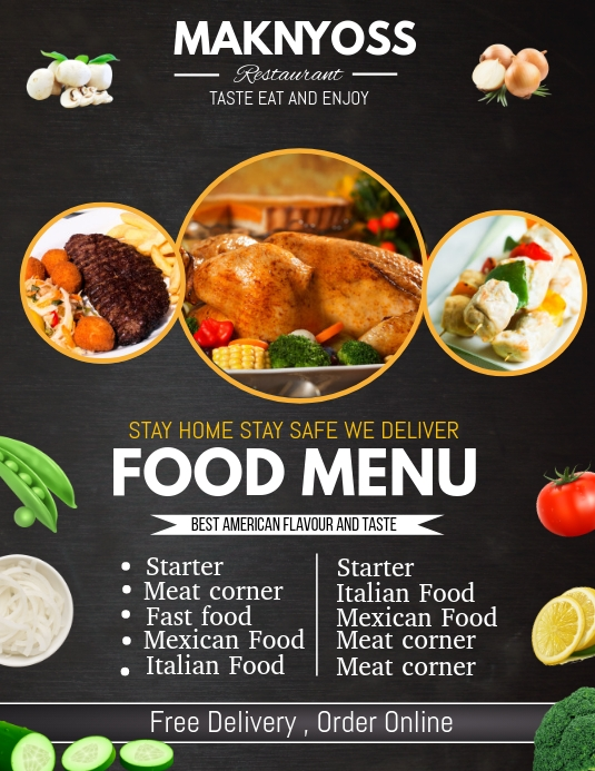 menu flyer template free, modern restaurant food menu flyer template, food menu flyer template, christmas menu flyer template, dinner sales flyers, sample flyers for food business, free restaurant flyer design template