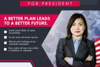 Political Campaign Flyer Template Free (1st Best Example)