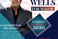 Political Campaign Flyer Template Free (3rd Best Example)