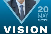 Political Campaign Flyer Template Free (4th Best Example)