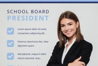 School Election Flyer Template Free Download (1st Best Option)
