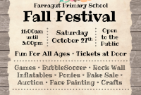 School Fall Festival Flyer Template Free Customizable (1st Best Word Format)