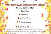 School Fall Festival Flyer Template Free Customizable (2nd Best Word Format)