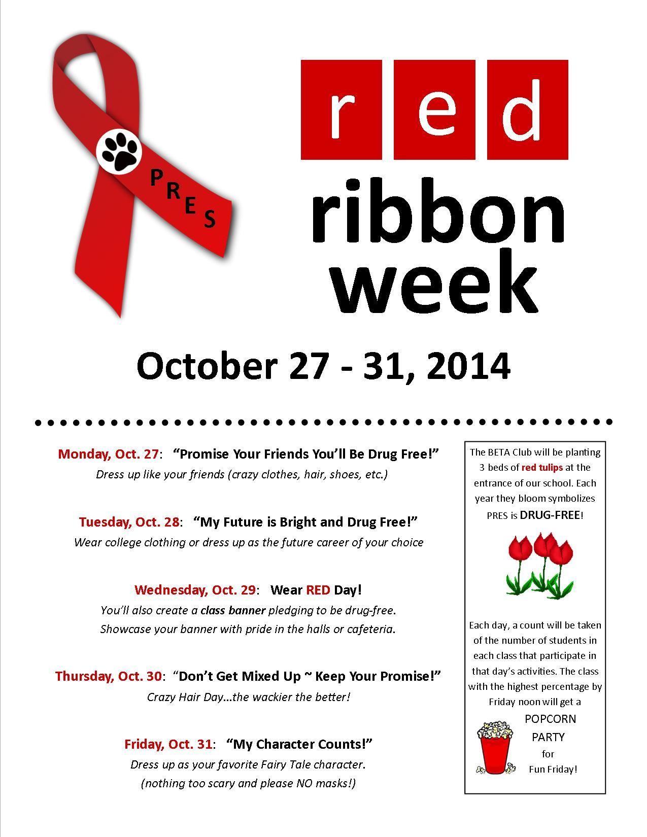 red ribbon week flyer template, red ribbon week flyer editable template, red ribbon week poster contest, red ribbon week posters