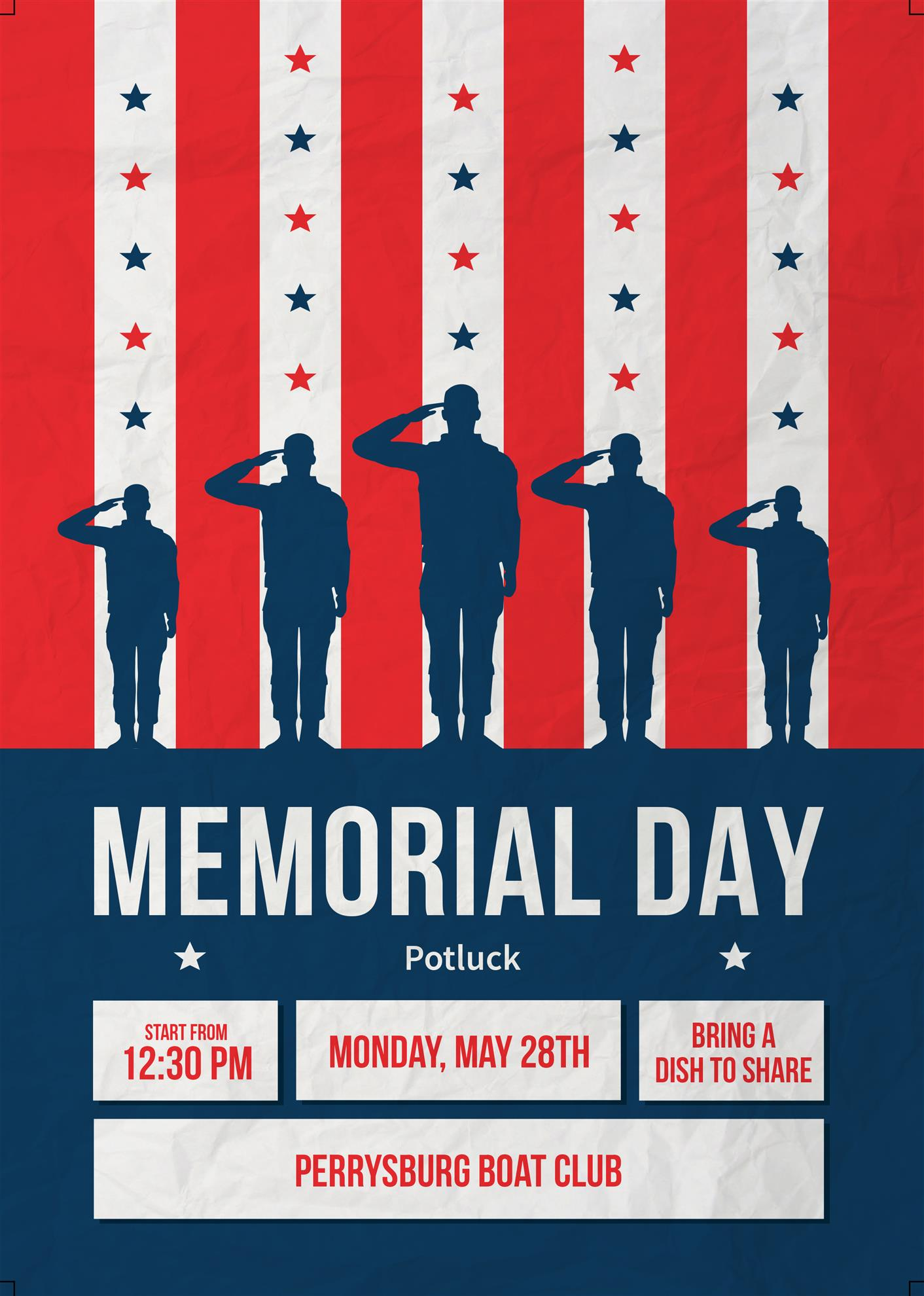 Greatest Memorial Day Flyer Template Free (12 New Picks)