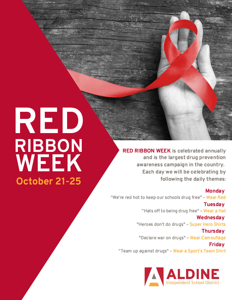Red Ribbon Week Flyer Template Free Download (8 Top Picks)