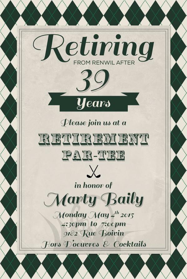 Professional Retirement Flyer Samples Free (9 Best Options)